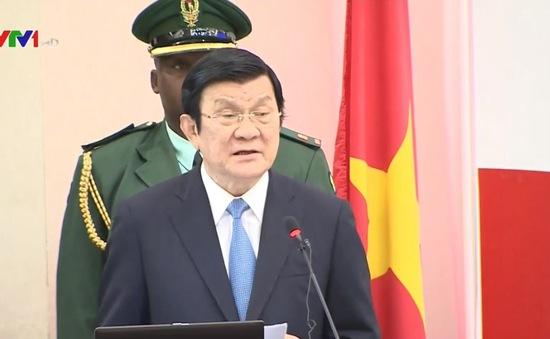 Chủ tịch nước dự Diễn đàn kinh tế Tanzania-Việt Nam