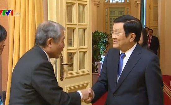 Chủ tịch nước tiếp Liên đoàn kinh tế vùng Kyushu, Nhật Bản