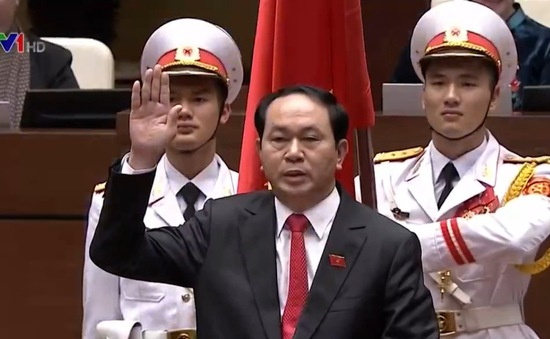 Lãnh đạo các nước gửi điện mừng Chủ tịch nước Trần Đại Quang