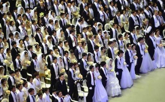 3.000 cặp đôi làm đám cưới tập thể ở Hàn Quốc