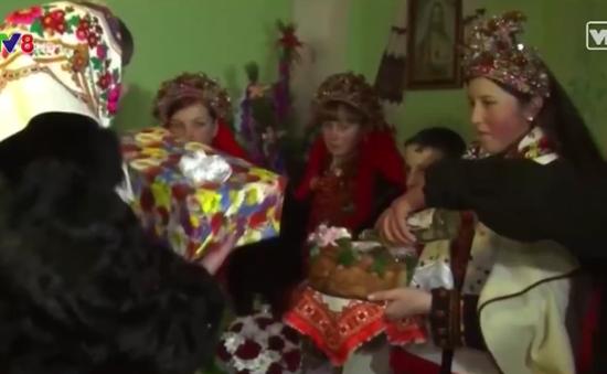 Đặc sắc với đám cưới truyền thống ở Ukraine