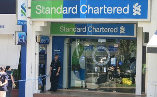 Ngân hàng Standard Chartered tại Singapore bị cướp táo tợn