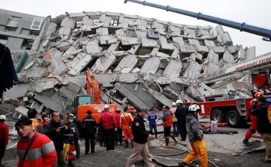 Đài Loan bắt chủ công ty xây tòa nhà bị sập vì động đất