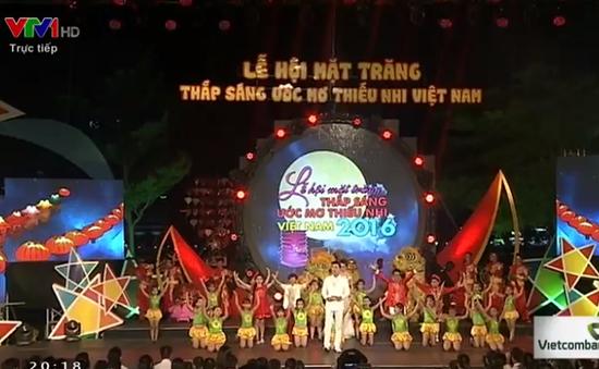 Rộn ràng đón Trung thu ở Lễ hội mặt trăng - Thắp sáng ước mơ thiếu nhi Việt Nam