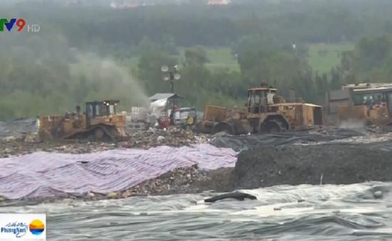 Người dân lo lắng vì ô nhiễm nước rỉ rác khu Đa Phước (TP.HCM)
