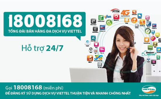 Viettel chính thức ra mắt tổng đài bán hàng đa dịch vụ