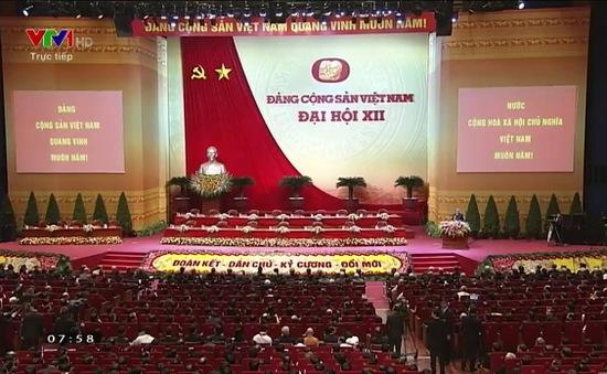 Xem lại lễ khai mạc Đại hội đại biểu toàn quốc lần thứ XII Đảng Cộng sản Việt Nam
