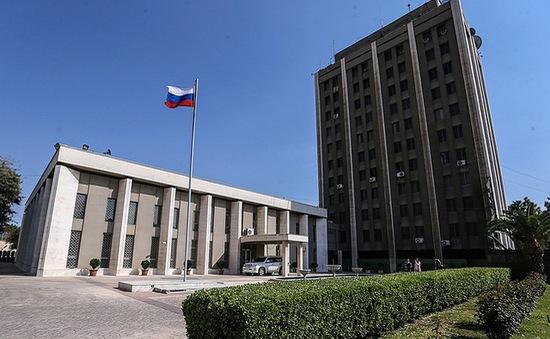 Đại sứ quán Nga tại Syria bị nã đạn pháo 2 lần liên tiếp