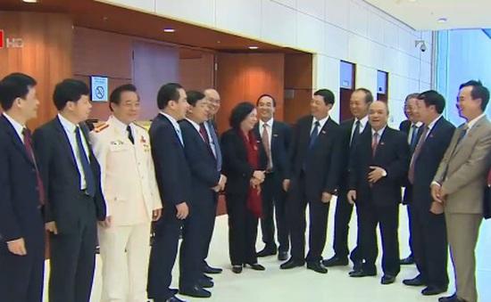 Nhiều đại biểu đánh giá cao văn kiện trình Đại hội XII của Đảng