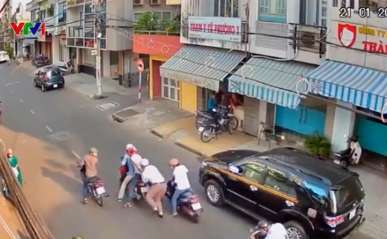 Xóa sổ nhiều băng nhóm dàn cảnh cướp tài sản người đi đường