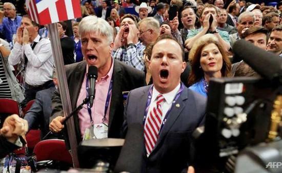 Tranh cãi gay gắt tại khai mạc Đại hội toàn quốc đảng Cộng hòa Mỹ