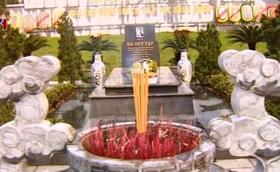 Lãnh đạo Đảng, Nhà nước dâng hương tưởng niệm Tổng Bí thư Hà Huy Tập