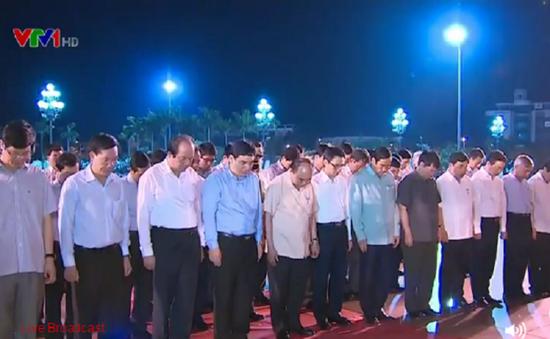 Thủ tướng Nguyễn Xuân Phúc dâng hương tại Ngã ba Đồng Lộc