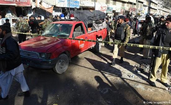 Đánh bom ở trung tâm tiêm phòng tại Pakistan, 14 người thiệt mạng