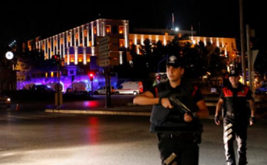 Công bố video khách sạn của Tổng thống Thổ Nhĩ Kỳ bị tấn công trong đảo chính