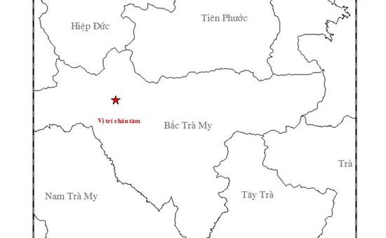Quảng Nam: Tiếp tục xảy ra động đất 3,7 độ richter tại huyện Bắc Trà My
