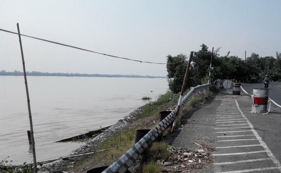 Công bố khẩn cấp tình trạng sạt lở bờ sông Tiền tại Đồng Tháp