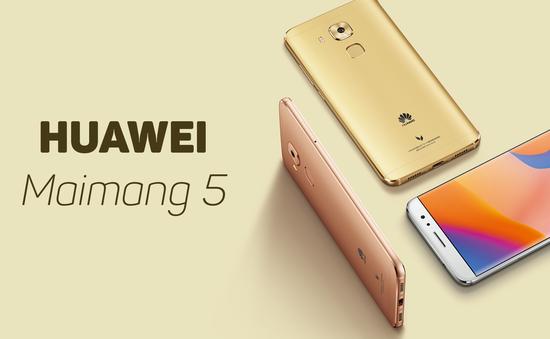 Huawei Maimang 5 ra mắt với màn hình 5,5 inch, camera 16MP