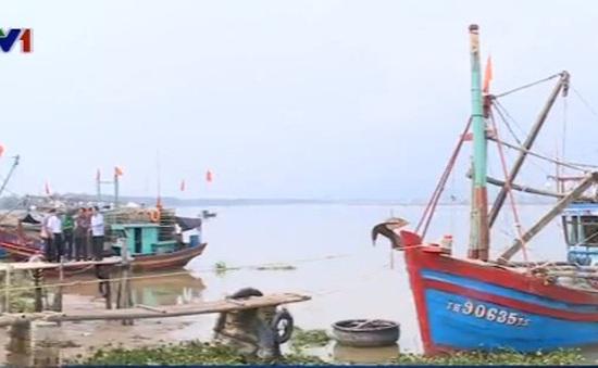 Sạt đê biển nghiêm trọng tại Thanh Hóa