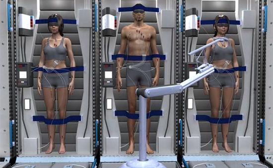 Phi hành gia sẽ ngủ đông trong quá trình lên sao Hỏa