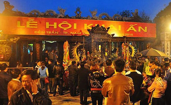 Hơn 2.000 cảnh sát bảo vệ Lễ khai ấn đền Trần