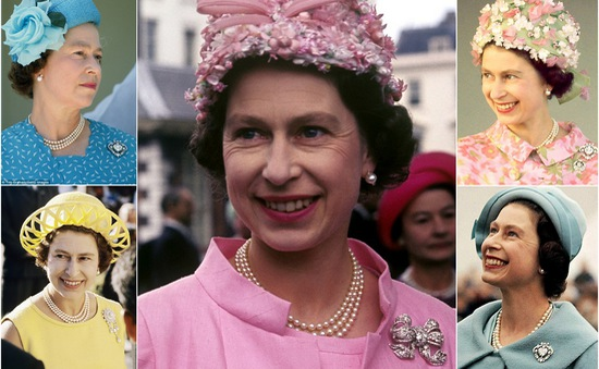 Ngắm phong cách thời trang cực sặc sỡ của Nữ hoàng Anh Elizabeth II