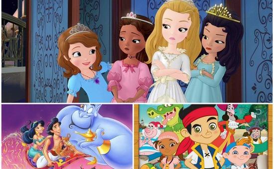 Xem phim hoạt hình Disney đình đám trên VTV2