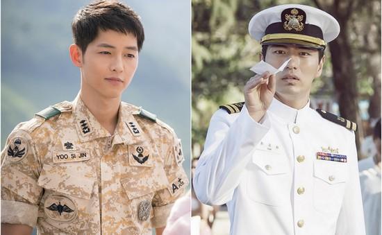 Đọ độ bảnh của hai mỹ nam quân nhân Song Joong Ki – Lee Jin Wook