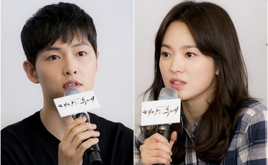 """Song Hye Kyo hạnh phúc vì được làm """"người tình"""" của Song Joong Ki"""