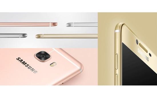 Samsung chính thức trình làng bộ đôi Galaxy C5 và Galaxy C7