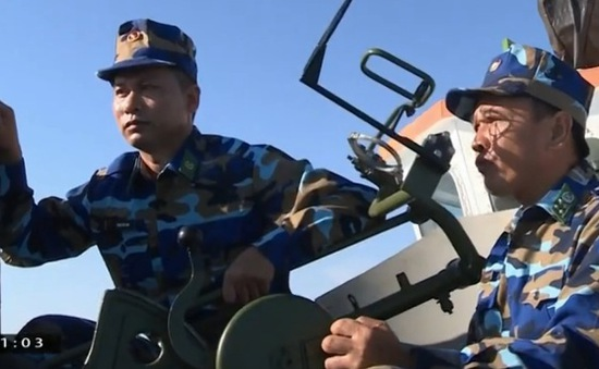 Biên phòng Quảng Trị diễn tập cứu hộ cứu nạn trên biển