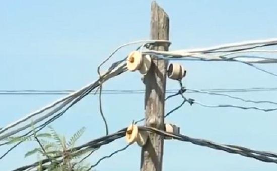 Phú Yên: Hiểm họa lưới điện tự phát tại nông thôn
