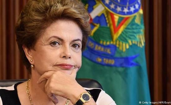 Tổng thống Brazil Dilma Rousseff chính thức bị luận tội