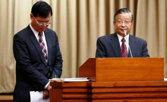 Chủ tịch Ủy ban giám sát tài chính (FSC) Đài Loan (Trung Quốc) từ chức