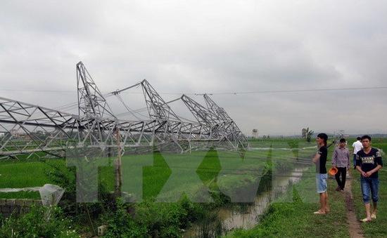 Xử lý trách nhiệm tập thể, cá nhân liên quan đến sự cố đổ cột điện đường dây 500kV