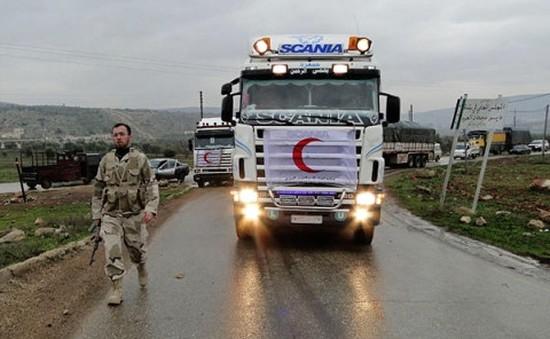 Đoàn xe lương thực đầu tiên của LHQ vào Daraya (Syria) kể từ năm 2012