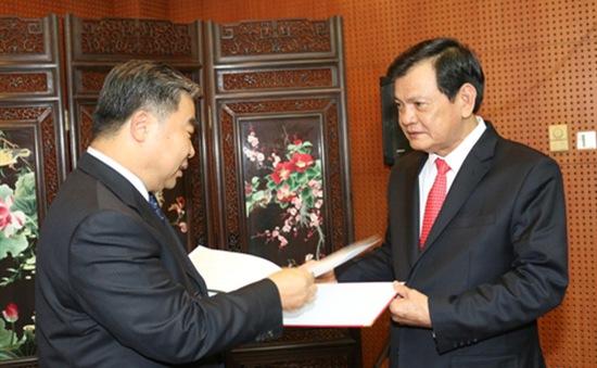 Đoàn đại biểu Ban chỉ đạo Quốc gia 1237 làm việc tại Trung Quốc