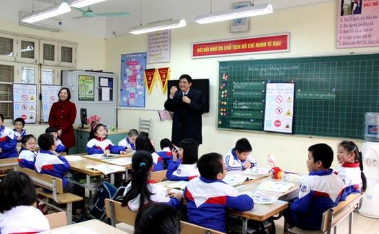 Mô hình trường học mới (VNEN) phát triển bền vững tại Hà Nội
