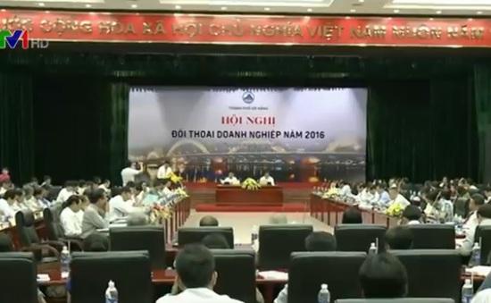 Lãnh đạo TP Đà Nẵng đối thoại với các doanh nghiệp
