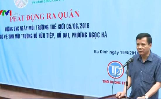 Hà Nội hưởng ứng ngày Môi trường Thế giới