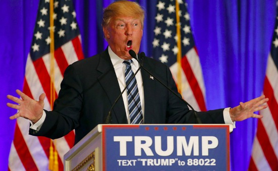 Ứng viên tổng thống Mỹ Donald Trump công bố chính sách thương mại