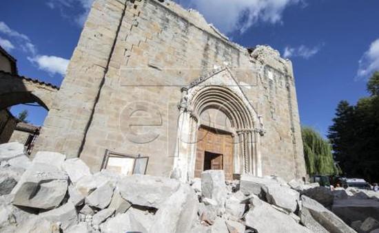 Italy: Thiệt hại lớn trong trận động đất do chủ quan
