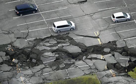 Động đất mạnh 5,8 độ Richter làm rung chuyển vùng Toho-oki, Nhật Bản