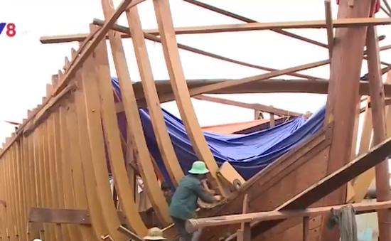Bình Định: Giá thành tàu vỏ gỗ tăng hơn 25%