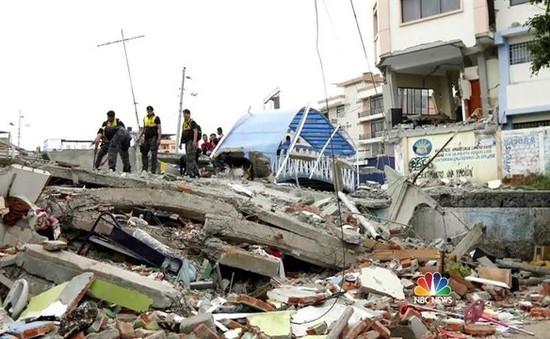 Lãnh đạo Việt Nam gửi điện thăm hỏi về động đất ở Ecuador