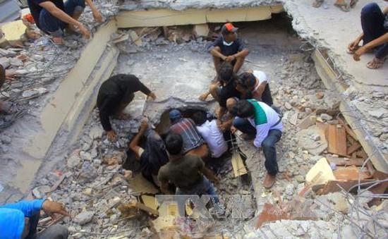 Động đất tại Indonesia: Chưa có thông tin người Việt bị ảnh hưởng