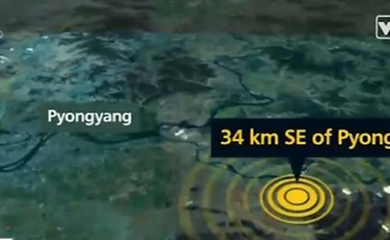 Động đất nhân tạo mạnh 2,2 độ richter tại Triều Tiên