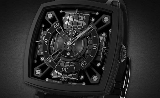 Chiếc đồng hồ đầu tiên làm từ vật liệu tối có giá lên tới 95.000 USD