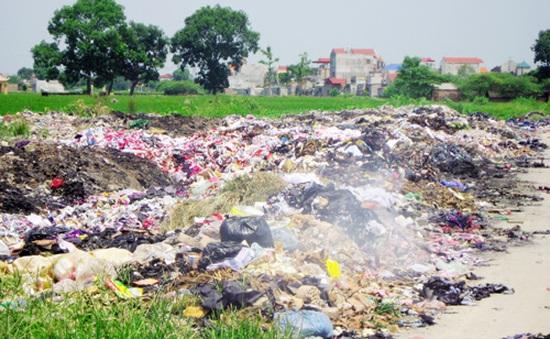 TP.HCM phát hiện công ty xử lý rác thải xả thải ra môi trường
