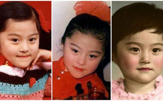 Ngắm loạt ảnh thời thơ ấu dễ thương của Phạm Băng Băng